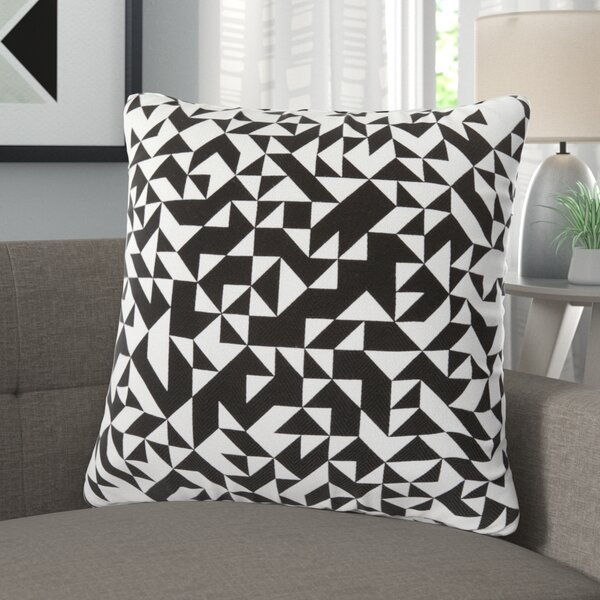 Justus 100% Cotton Throw Pillow Cover by Langley Street